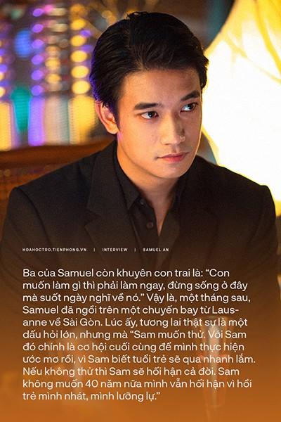 """Samuel An: """"Sam thích ở Việt Nam vì đây là nơi mà Sam thấy mình vui vẻ, hạnh phúc"""" ảnh 3"""