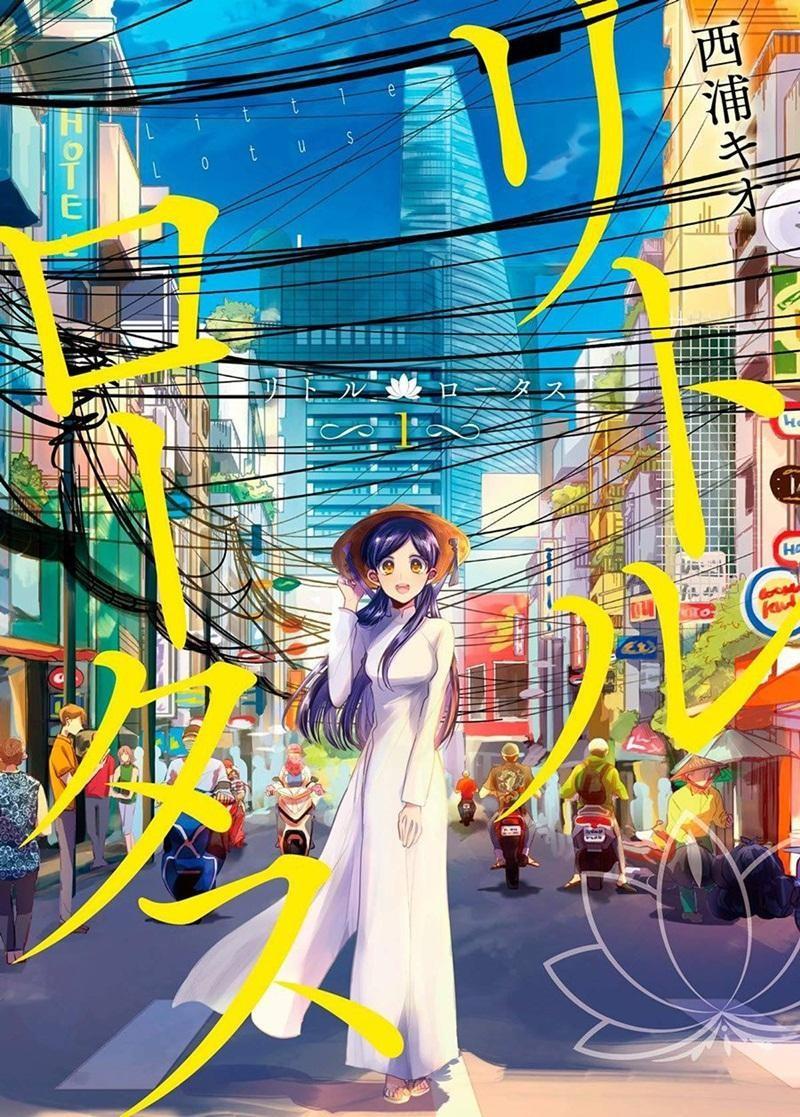 """Ngắm những địa danh thân thuộc của Việt Nam qua bộ truyện tranh Nhật Bản """"Little Lotus"""" ảnh 1"""
