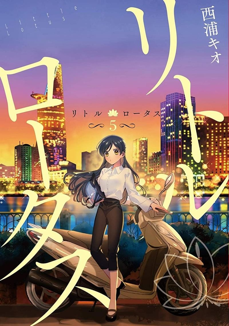 """Ngắm những địa danh thân thuộc của Việt Nam qua bộ truyện tranh Nhật Bản """"Little Lotus"""" ảnh 8"""