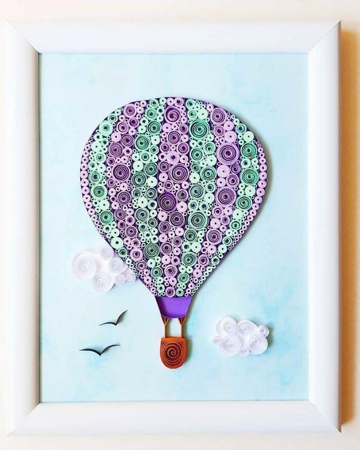 Ngắm những bức tranh giấy xoắn đẹp mê hồn dưới bàn tay nghệ sĩ Bulgaria ảnh 25