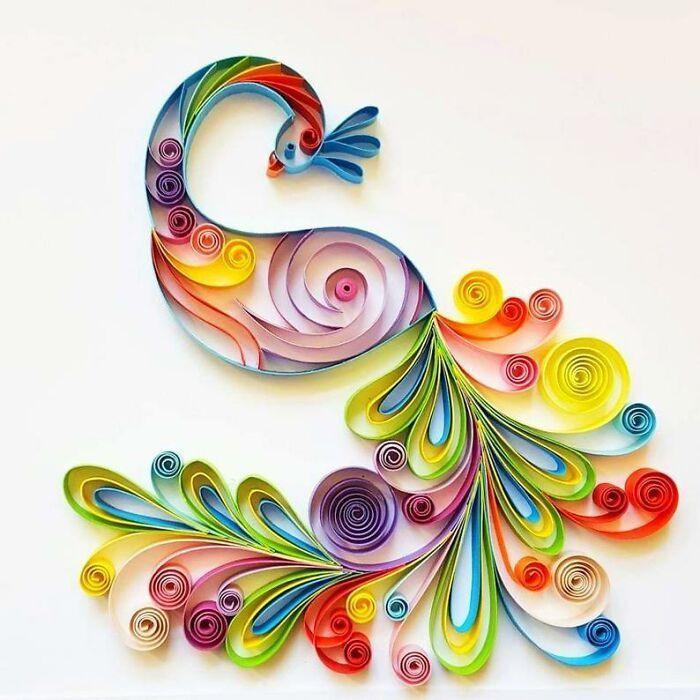 Ngắm những bức tranh giấy xoắn đẹp mê hồn dưới bàn tay nghệ sĩ Bulgaria ảnh 36
