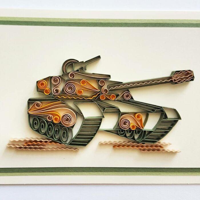 Ngắm những bức tranh giấy xoắn đẹp mê hồn dưới bàn tay nghệ sĩ Bulgaria ảnh 37