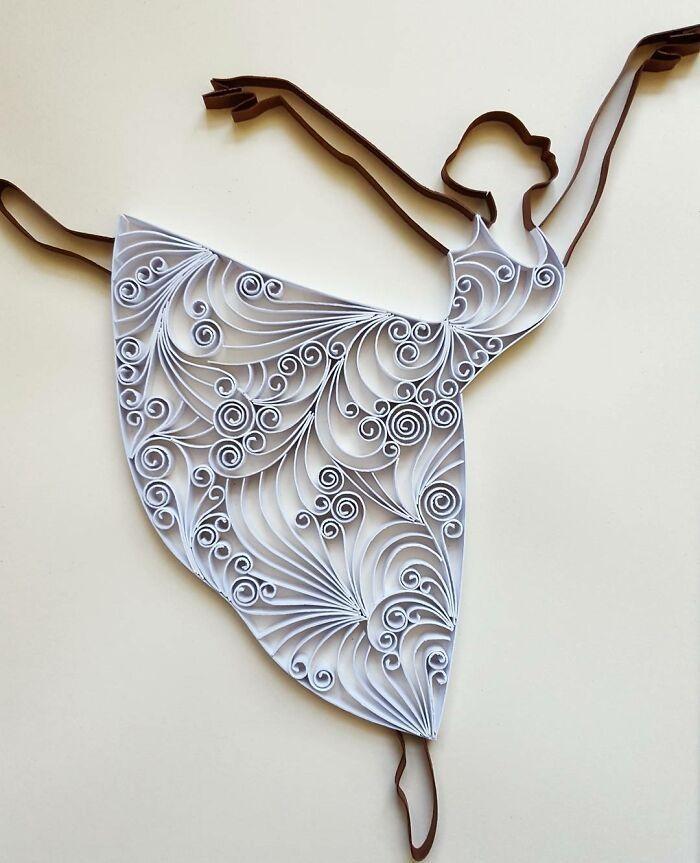 Ngắm những bức tranh giấy xoắn đẹp mê hồn dưới bàn tay nghệ sĩ Bulgaria ảnh 8