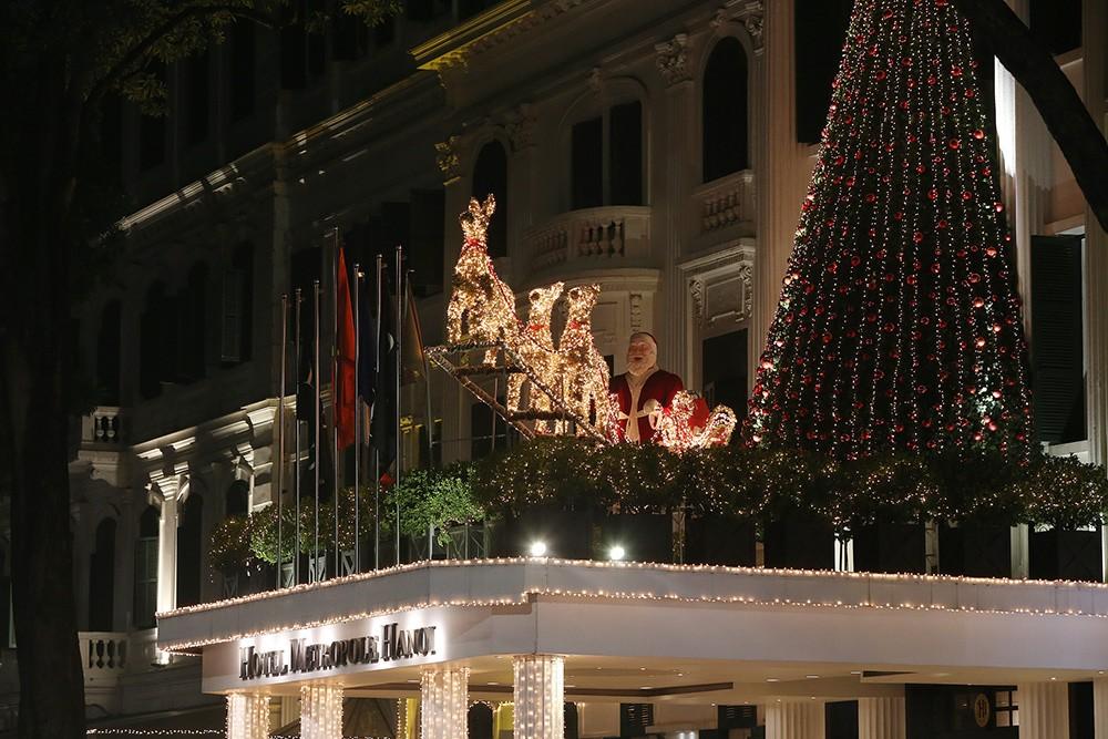 Khắp phố phường Hà Nội đã rạo rực trước mùa Noel ảnh 10