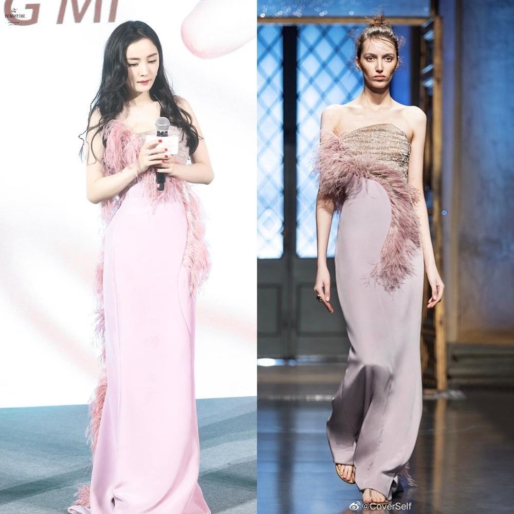 Khổ như Dương Mịch: Nỗ lực diện đồ Haute Couture cao cấp mùa mới nhất nhưng vẫn bị chê ảnh 3