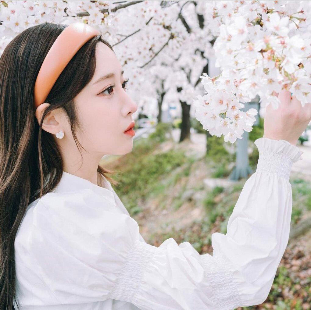 Dàn mỹ nhân K-Pop ngắm hoa anh đào: Jennie (BLACKPINK) nổi nhất nhờ trang phục thời thượng ảnh 3