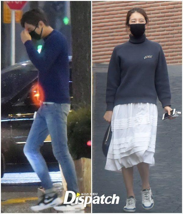 """""""Ngụy trang"""" kiểu sao Hàn: Ăn mặc đơn giản, thoải mái đến mức xuề xòa khi đi hẹn hò ảnh 5"""