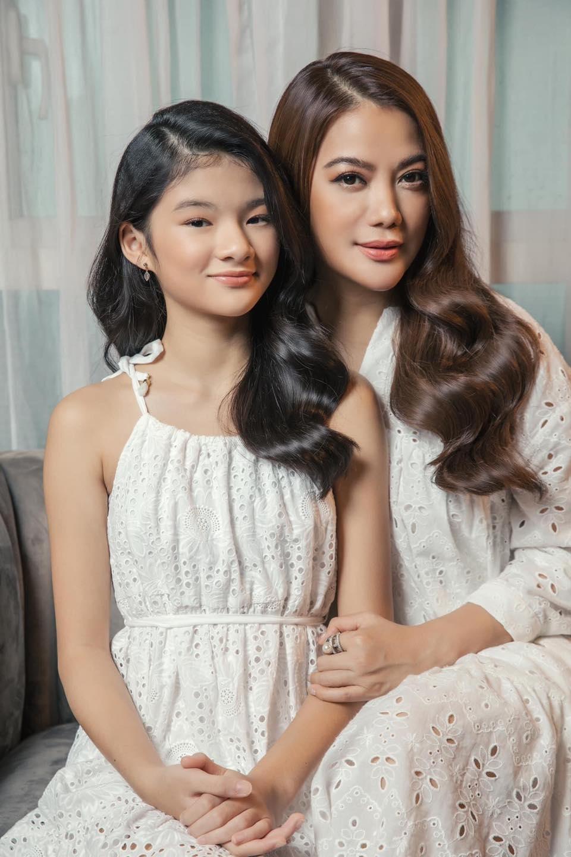 Con nhà sao Việt xinh như hoa hậu thì nhiều, nhưng chỉ Bảo Tiên là đẹp chuẩn siêu mẫu ảnh 6
