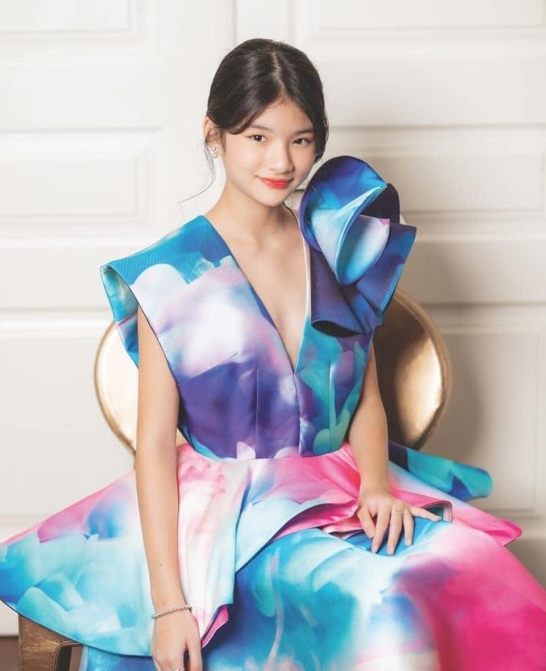 Con nhà sao Việt xinh như hoa hậu thì nhiều, nhưng chỉ Bảo Tiên là đẹp chuẩn siêu mẫu ảnh 5