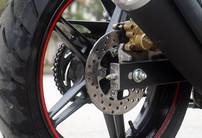 Trải nghiệm xế nổ thể thao Yamaha FZ150i ảnh 14