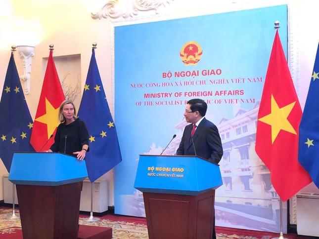 EU chia sẻ quan ngại của Việt Nam về căng thẳng trên biển Đông ảnh 2