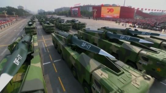 Những vũ khí 'khủng' xuất hiện tại lễ kỷ niệm 70 năm Quốc khánh Trung Quốc ảnh 4