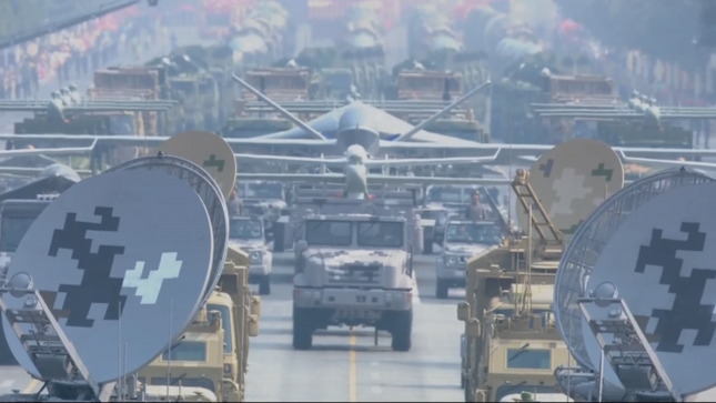 Những vũ khí 'khủng' xuất hiện tại lễ kỷ niệm 70 năm Quốc khánh Trung Quốc ảnh 7