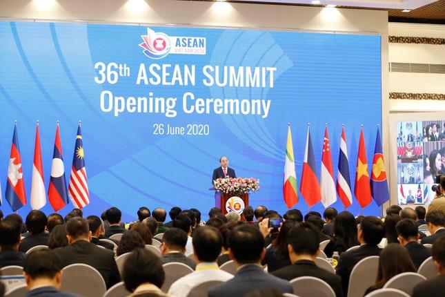 Hội nghị cấp cao ASEAN trực tuyến khai mạc tại Hà Nội ảnh 1
