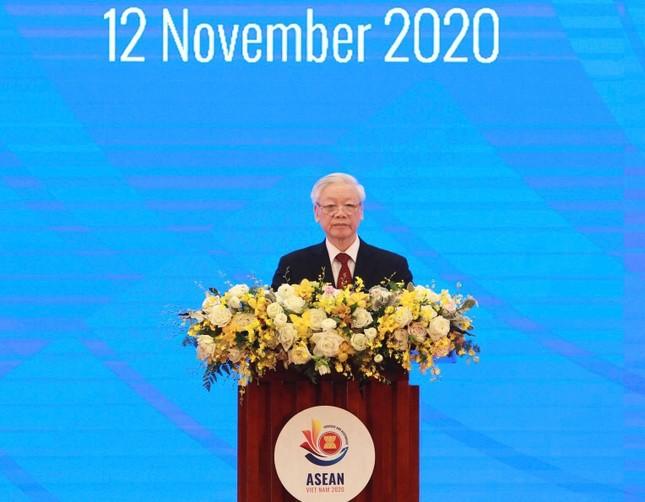 Tổng Bí thư, Chủ tịch nước Nguyễn Phú Trọng dự khai mạc Hội nghị cấp cao ASEAN 37 ảnh 2