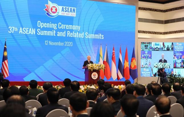 Tổng Bí thư, Chủ tịch nước Nguyễn Phú Trọng dự khai mạc Hội nghị cấp cao ASEAN 37 ảnh 3