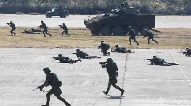 Đài Loan tập trận chống Trung Quốc tấn công ảnh 1
