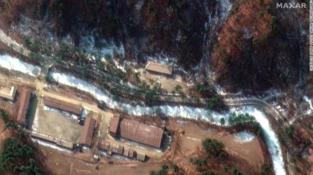 Ảnh vệ tinh làm lộ việc Triều Tiên cố giấu nơi cất vũ khí hạt nhân ảnh 1