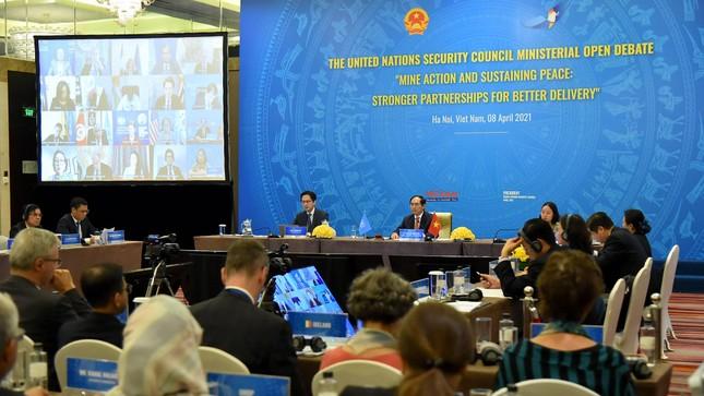 Dương Tử Quỳnh dự phiên họp của HĐBA do Việt Nam chủ trì ảnh 1