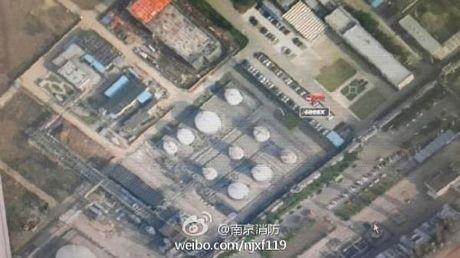 Cháy dữ dội tại nhà máy lọc dầu Trung Quốc ảnh 13