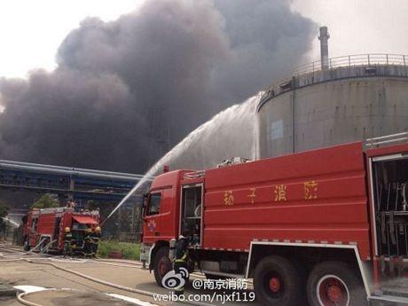 Cháy dữ dội tại nhà máy lọc dầu Trung Quốc ảnh 3