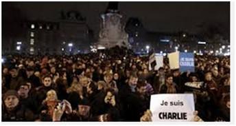 Hàng trăm ngàn người Pháp xuống đường sau vụ thảm sát ảnh 5