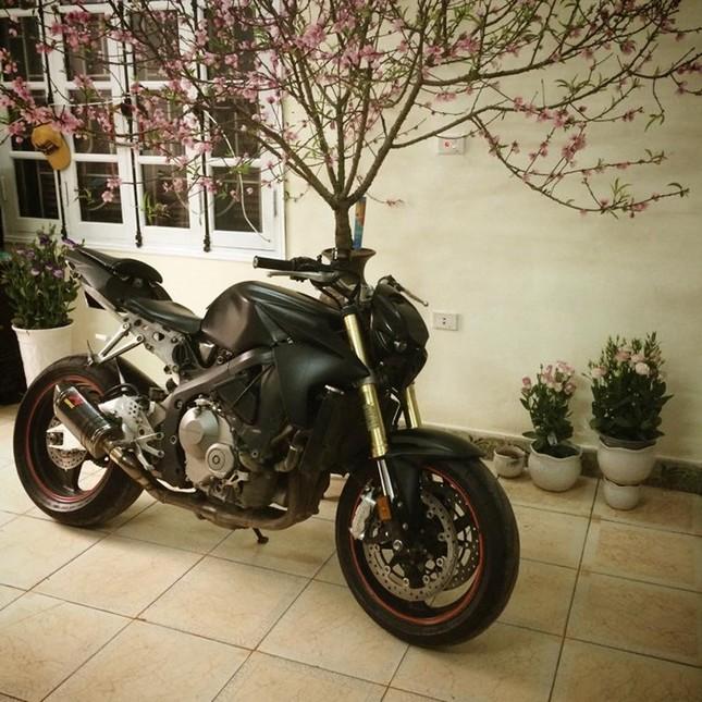 Honda CBR600 độ cực chất, đi chơi Tết của biker Hà Nội ảnh 2