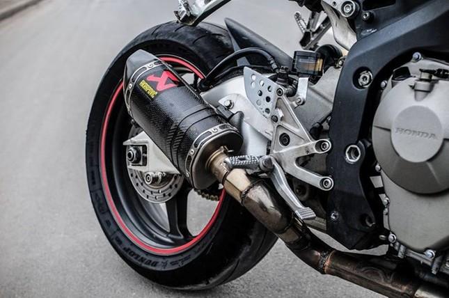 Honda CBR600 độ cực chất, đi chơi Tết của biker Hà Nội ảnh 9