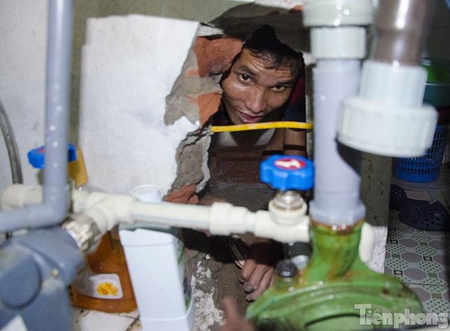 Người dân Thủ đô lại khốn khổ vì mất nước sinh hoạt ảnh 2