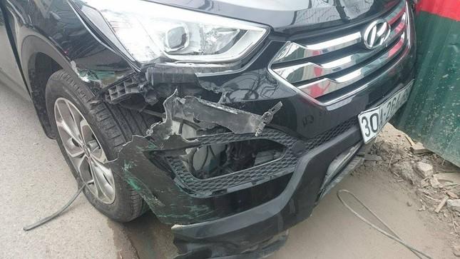 'Xe điên' đâm nát taxi, xe máy: Đường Trường Chinh tắc nghẽn ảnh 5