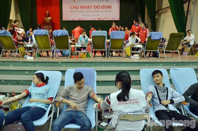 Chủ Nhật Đỏ 2016: Hàng trăm sinh viên tiếp tục hiến máu ảnh 3