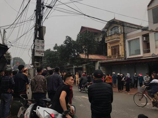 Cháy cửa hàng vật liệu xây dựng, 3 người tử vong ở Hưng Yên ảnh 1
