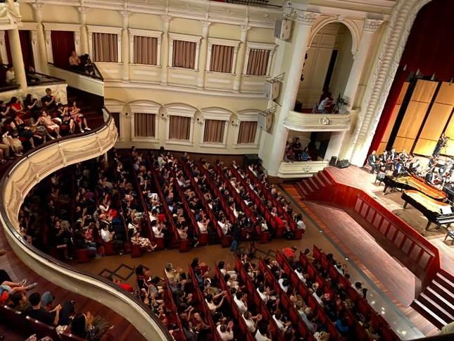 Nhà hát Giao hưởng Nhạc Vũ kịch TPHCM có đêm biểu diễn lớn nhất thế giới mùa COVID ảnh 3