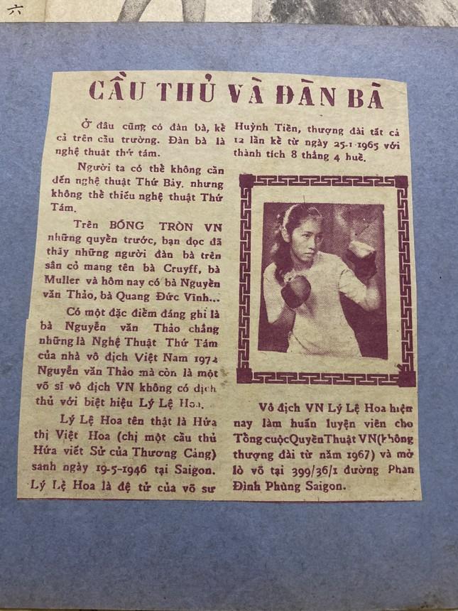 Đồng môn với Lý Huỳnh, nữ võ sĩ Việt Nam đầu tiên thượng đài Lý Lệ Hoa qua đời ảnh 4