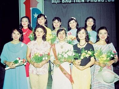 Buổi thi Hoa hậu Việt Nam đầu tiên diễn ra như thế nào? ảnh 1