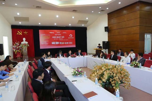 25 tỉnh, thành tham gia Chủ nhật đỏ 2017 ảnh 1