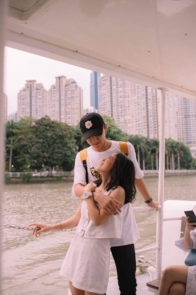 """Cặp """"đũa lệch"""" đáng yêu của ĐH Đại Việt: Chàng hơn nàng 31cm, luôn gây sự chú ý ảnh 1"""