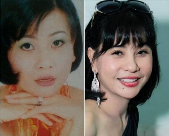 Sao Việt thi nhau đăng ảnh theo trào lưu cũ - mới; Bảo Anh bất ngờ hôn má Dương Triệu Vũ ảnh 12