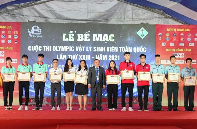 Trường ĐH Sư phạm TP. HCM dẫn đầu Olympic Vật lý sinh viên toàn quốc.  ảnh 1