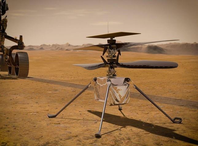 Video khoảnh khắc lịch sử máy bay Ingenuity cất cánh trên Sao Hỏa ảnh 1