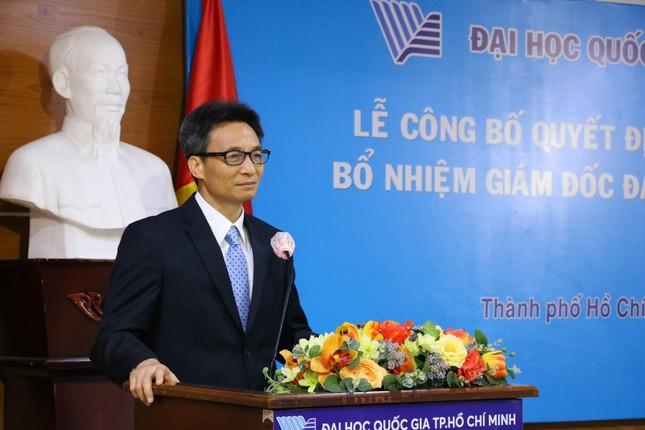 Phó Thủ tướng Vũ Đức Đam kỳ vọng ĐHQG TP. HCM vươn tầm châu lục và thế giới  ảnh 2