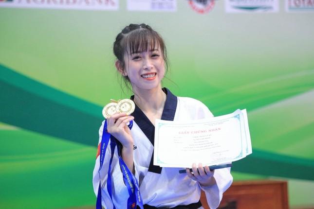 """Nhan sắc tươi tắn của """"hoa khôi"""" Taekwondo tham gia ứng cử đại biểu HĐND TP. HCM.  ảnh 2"""