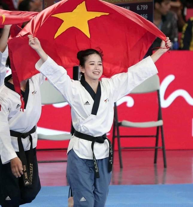 """Nhan sắc tươi tắn của """"hoa khôi"""" Taekwondo tham gia ứng cử đại biểu HĐND TP. HCM.  ảnh 1"""