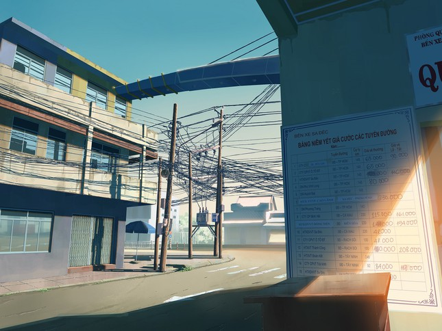 """Đồng Tháp sống động """"như phim"""" qua tranh vẽ của chàng sinh viên Đỗ Minh Hải ảnh 3"""