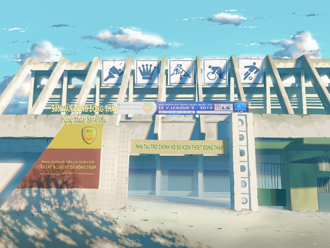 """Đồng Tháp sống động """"như phim"""" qua tranh vẽ của chàng sinh viên Đỗ Minh Hải ảnh 7"""
