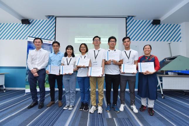 Sinh viên trường ĐH Bách khoa (ĐHQG TP. HCM) giành cú đúp eProjects  ảnh 1