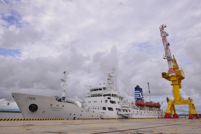 """Sinh viên trường ĐH Hàng hải Việt Nam sẽ học trên tàu """"5 sao"""" do Hàn Quốc trao tặng ảnh 1"""