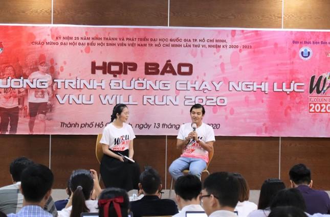 """Trần Đặng Đăng Khoa làm Đại sứ của """"VNU Will Run 2020"""" ảnh 1"""