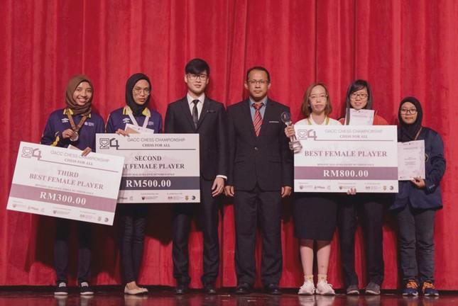 Người đem Huy chương Vàng Cờ vua châu Á về cho trường ĐH Văn Lang ảnh 2