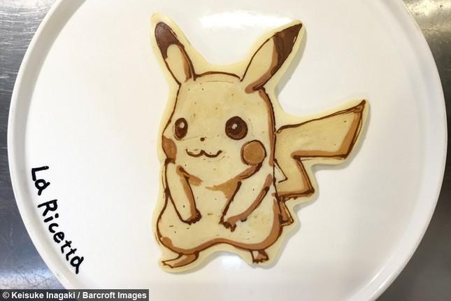 Đầu bếp 51 tuổi sáng tạo bánh kếp… anime  ảnh 1